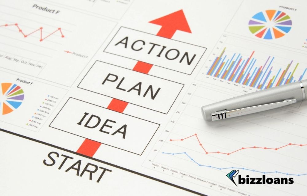 business idea and plan concept to improve financial position